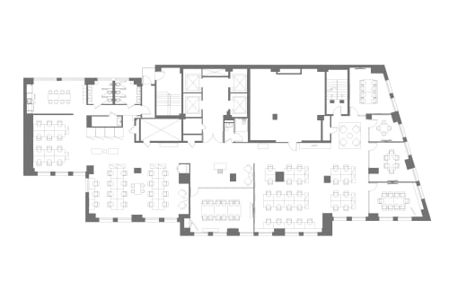 Floor-plan of 1450 Broadway, 23rd Floor
