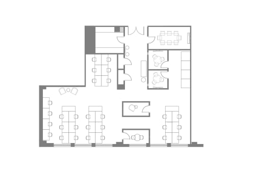 Floor-plan of Coming Soon: 150 West 30th, 2nd Floor, Suite 204