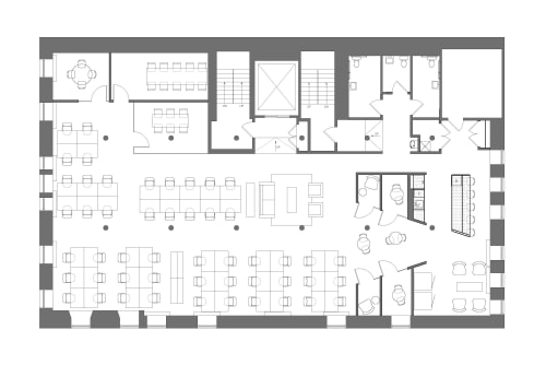Floor-plan of Coming Soon: 54 Thompson Street, 5th Floor