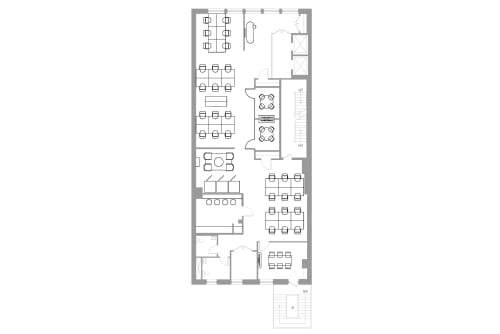Floor-plan of Coming Soon: 184 5th Ave, 4th Floor