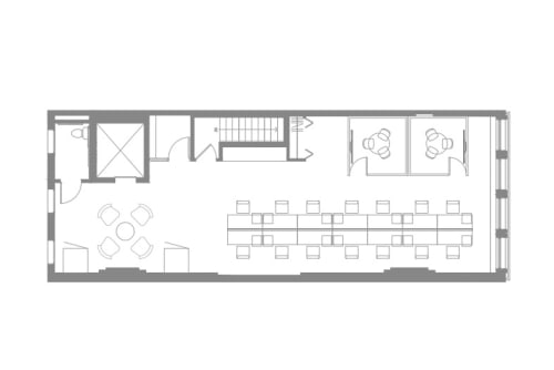 Floor-plan of Coming Soon: 23 West 23rd Street, 2nd Floor, Suite 200