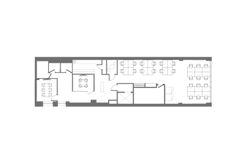 Floor-plan of 26 West 23rd, 5th Floor, Suite 500