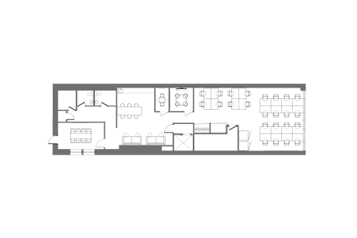 Floor-plan of 26 West 23rd, 6th Floor, Suite 600