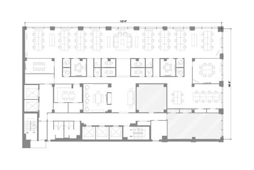 Floor-plan of 322 8th Ave, 3rd Floor, Suite 1