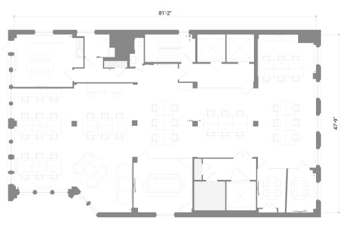 Floor-plan of 36 West 25th Street, 16th Floor