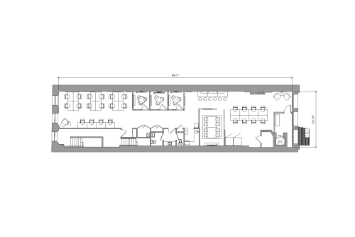 Floor-plan of 450 Broadway, 4th Floor, Suite 400