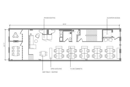 Floor-plan of Coming Soon: 460 Broome Street, 3rd Floor, Suite 300