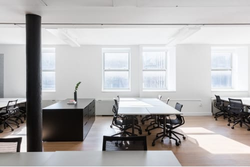 Office space located at 54 Thompson Street, 4th Floor, Suite 400, #7