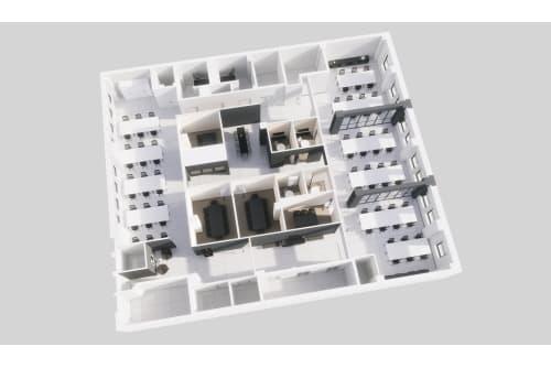 Floor-plan of 58 W 40th Street, #200, Coming Soon: 58 W 40th Street, 2nd Floor, Suite 200