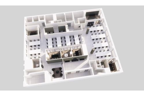 Floor-plan of Coming Soon: 58 W 40th Street, Mezzanine Floor