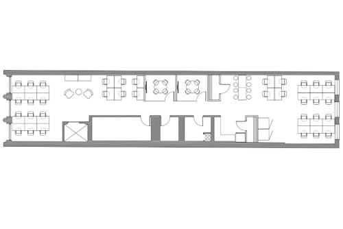 Floor-plan of Coming Soon: 734 Broadway, 3rd Floor, Suite 300