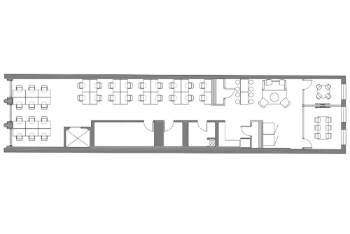 Floor-plan of Coming Soon: 734 Broadway, 4th Floor, Suite 400