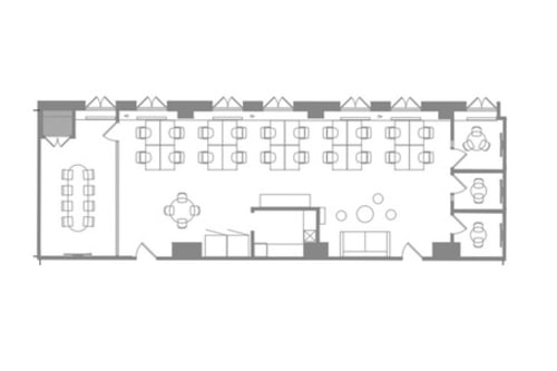Floor-plan of Coming Soon: 225 Bush St., 3rd Floor, Suite 360