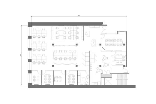 Floor-plan of 250 Sutter, 4th Floor, Suite 400