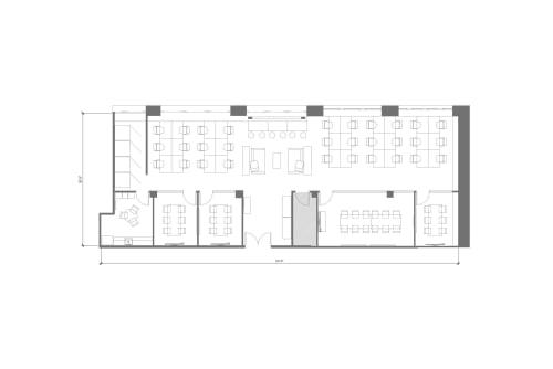 Floor-plan of 250 Sutter, 4th Floor, Suite 450