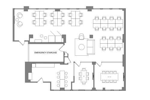 Floor-plan of Coming Soon: 311 California Street, 4th Floor, Suite 450