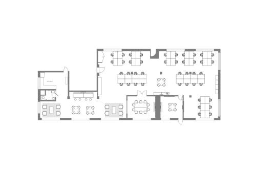 Floor-plan of 329 Bryant St., 2nd Floor, Suite 2C