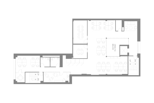 Floor-plan of 565 Commercial St., 3rd Floor, Suite 300