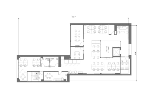 Floor-plan of 565 Commercial St., 4th Floor, Suite 400