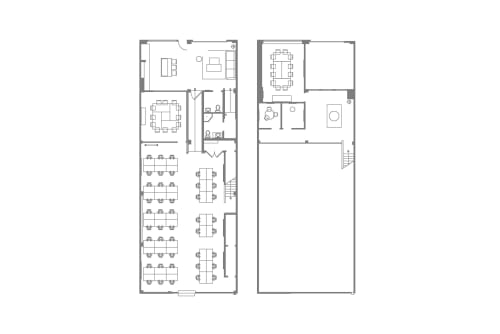 Floor-plan of 893 Folsom St., Suite A