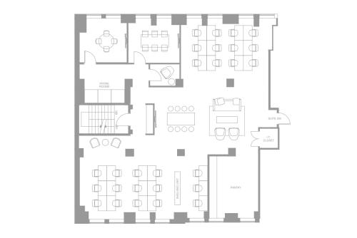 Floor-plan of Coming Soon: 25 Adelaide Street E, 3rd Floor, Suite 304