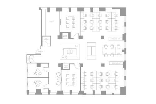 Floor-plan of Coming Soon: 25 Adelaide Street E, 3rd Floor, Suite 301