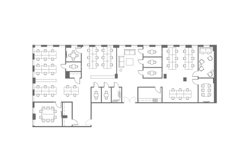 Floor-plan of 425 Adelaide St. West, 7th Floor, Suite 700, Room 1