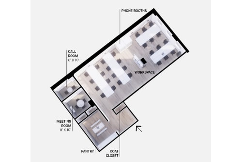 Floor-plan of 425 Adelaide St. West, 7th Floor, Suite 700, Room 2