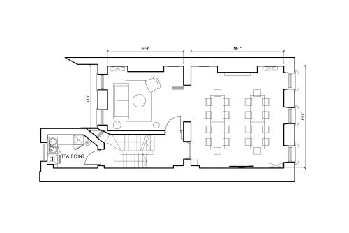 Floor-plan of 44 Welbeck Street, Marylebone, #1, 44 Welbeck Street, Marylebone, 1st Floor, Room 1
