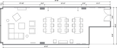 Floor plan for Breather office space Le Nordelec, 1751 Rue Richardson, 2nd Floor, Suite 2.202