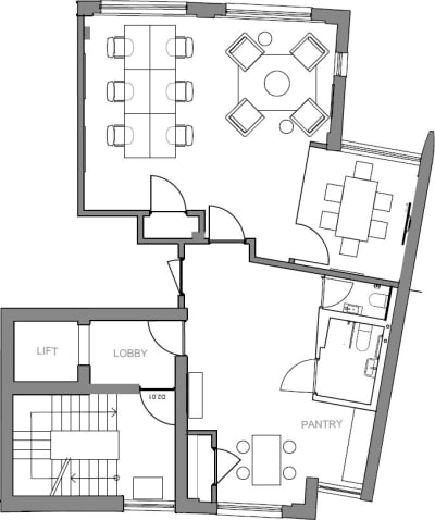 Floor plan for Breather office space 27 Provost Street, Shoreditch, #2, 27 Provost Street, Shoreditch, 2nd Floor, Room 2