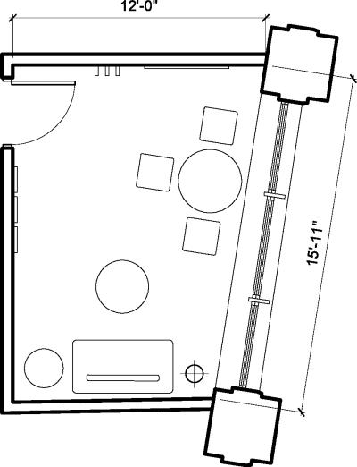Floor plan for Breather office space 80 Clerkenwell Road, Clerkenwell, #3, 80 Clerkenwell Road, Clerkenwell, 1st Floor, Room 3