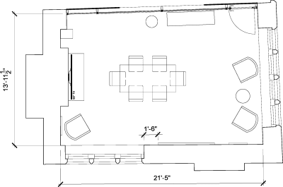 Floor plan for Breather office space 14 Golden Square, Soho, 14 Golden Square, Soho, Ground Floor