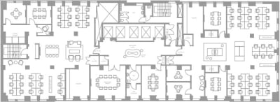 Floor plan for Breather office space Coming Soon: 25 Adelaide Street E, 3rd Floor, Suite 300