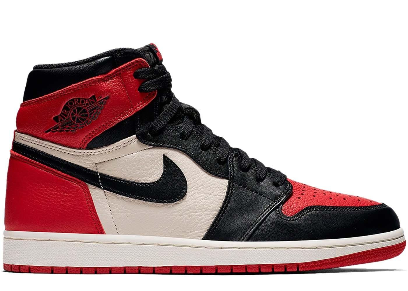 eac79aa7f7f6 Air Jordan 1 Retro High Bred Toe