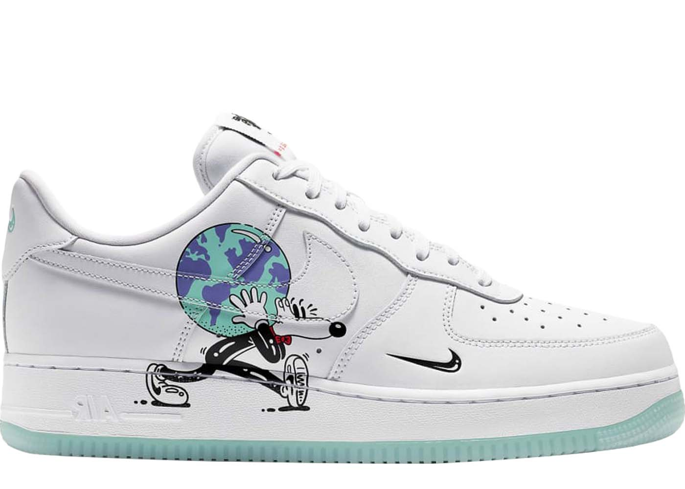 81944ffd2283 Air Force 1 Flyleather Steve Harrington Earth Day (2019)