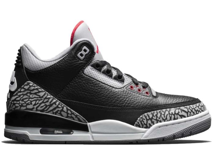 14bab749c67 Air Jordan 3 Retro Black Cement 2018 - 854262-001 | BRED.