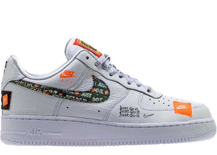 best sneakers ce925 98d62 Air Force 1 Low Just Do It Pack White/Black - AR7719-100 | BRED.