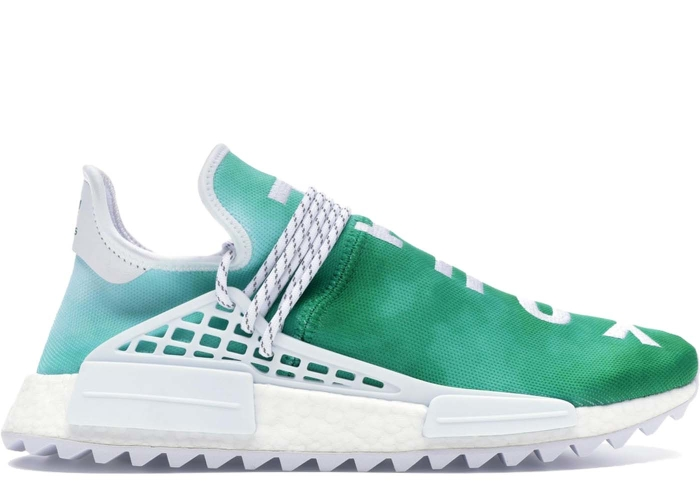 adidas Pharrell NMD HU China Pack Youth (Green) F99760 | BRED.