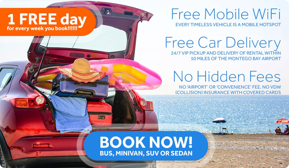 Free mobile Wifi. Free car delivery. No hidden Fees