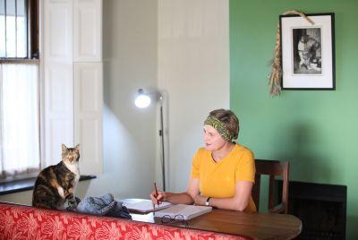 Photo by Brenda Veldtman, Authors, Environmental Portraits, NB Publishers, People, Portraits
