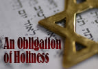 An Obligation of Holiness