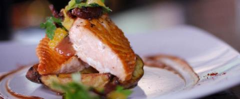 <h5>Milagro Grill - Salmon</h5>