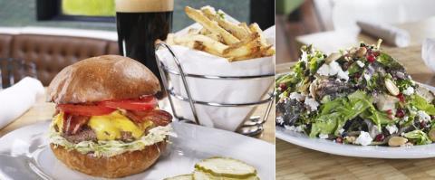 <h5>Zinburger, Biltmore - The food</h5>