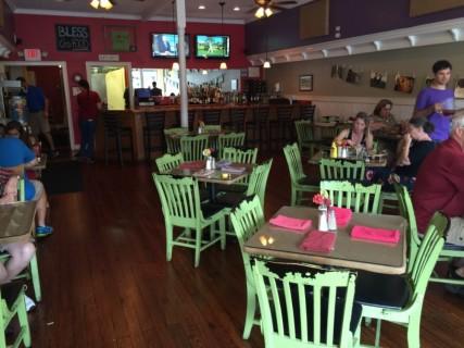 <h5>Local Dish Restaurant</h5><p> Local Dish Restaurant - Dining Area Seating</p>