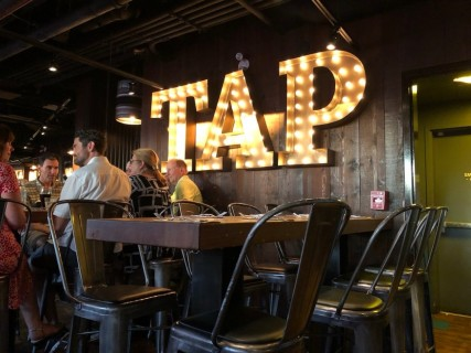 <h5>Tap & Barrel • Olympic Village</h5><p> Tap & Barrel • Olympic Village - Dining Area Seating</p>