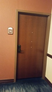 <h5>Gaylord Texan Resort & Convention Center</h5><p>Door from the outside of room 3121</p>