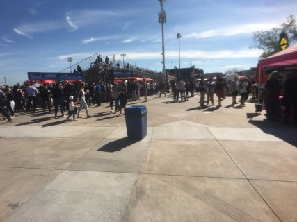 <h5>Scottsdale Stadium</h5><p>Main concourse down the third base line.  Lots of food and drink vendors.</p>