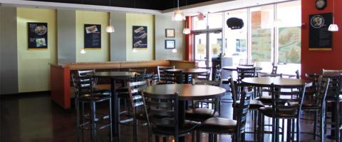 <h5>Restaurant interior</h5>