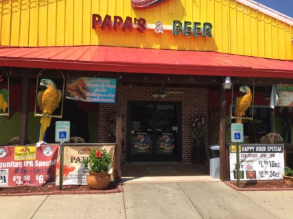 <h5>Papa's and Beer</h5><p> Papa's and Beer - Entrance</p>
